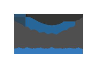 Logo da famaqui na cor azul e branco com a palavra famaqui ao centro